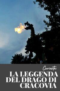 la leggenda del drago di cracovia