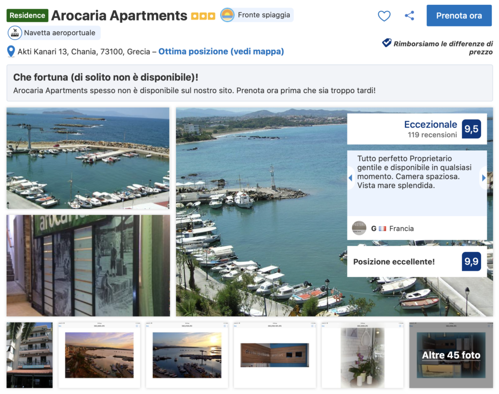 appartamento creta