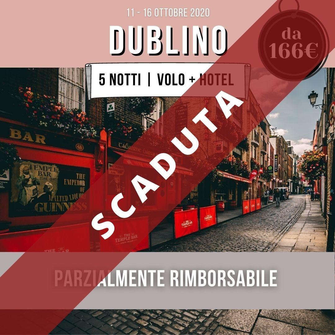 Dublino offerta volo + hotel