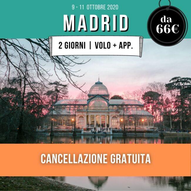 madrid-offerta-volo-hotel