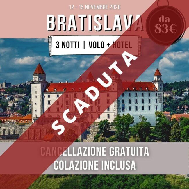 Bratislava offerta volo + hotel