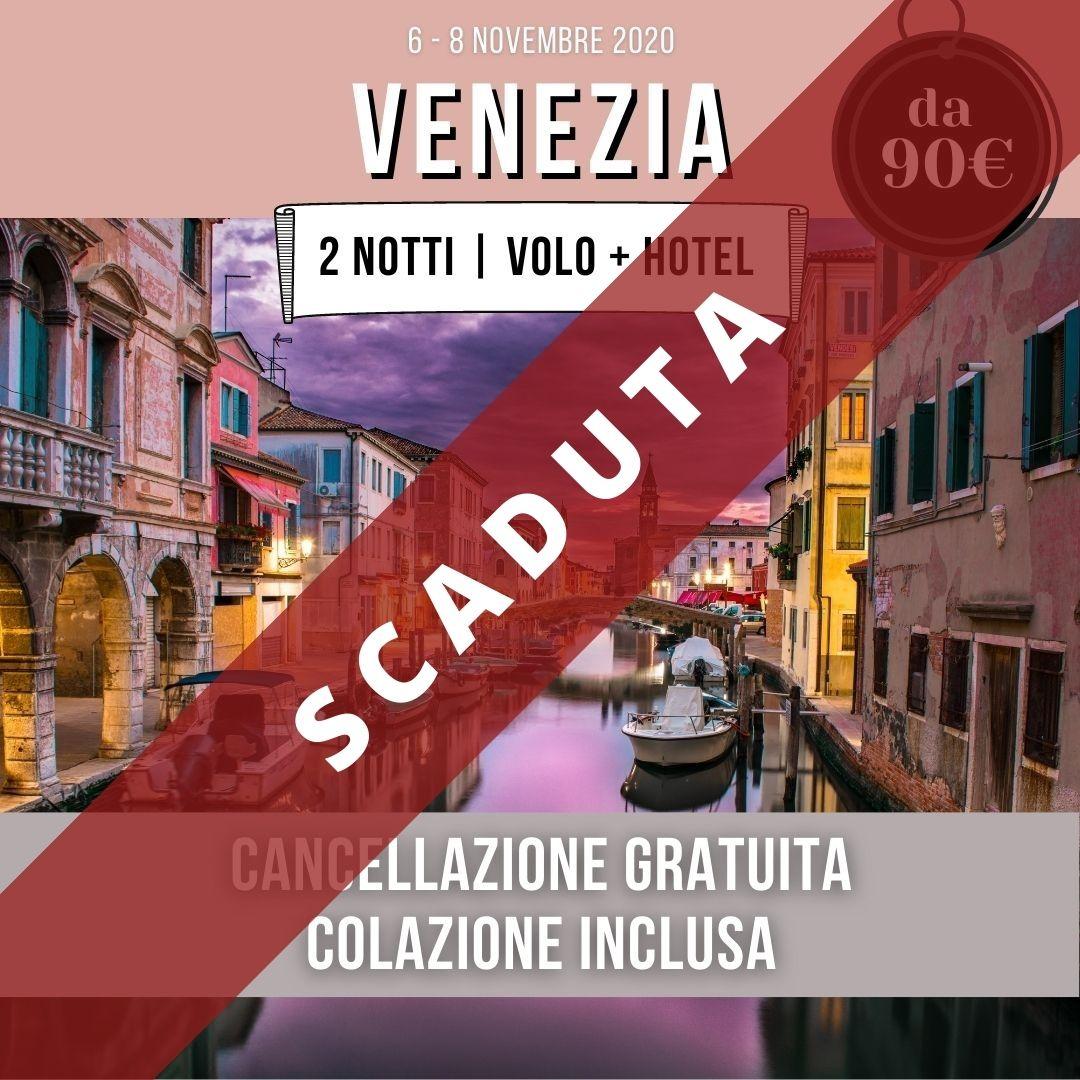 venezia offerta volo hotel